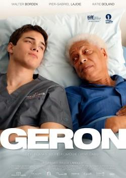 """Deutsche Kino-Premiere von """"Geron"""" ist am 29. September in Berlin. Vor dem offiziellen Kinostart am 30. Oktober ist der Film auf einigen Festivals zu sehen"""