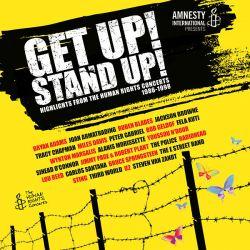 """""""Get Up! Stand Up! Highlights from The Human Rights Concerts 1986-1998"""" wurde parallel als Doppel-CD und DVD veröffentlicht"""