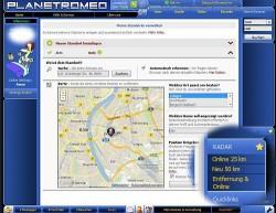 Das Radar hilft bei der Suche nach dem Date um die Ecke - Quelle: Screenshot