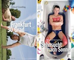"""Die ersten Bände der Ackerpflaumenallee-Trilogie: """"Frankfurt 30 Grad"""" und """"Sehnsucht nach Sonne"""""""