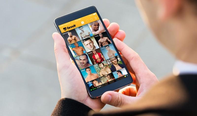 Schwule Dating-Apps neben grindr
