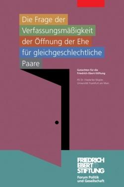 Das Gutachten der Friedrich-Ebert-Stiftung umfasst 44 Seiten