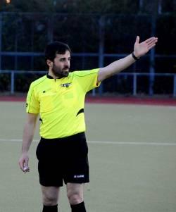 Schiedsrichter Halil İbrahim Dinçdağ aus Istanbul wird bei der EM pfeifen - Quelle: Sören Kohlhuber