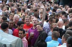 Knapp 10.000 Besucher schauen jedes Jahr beim Hans-Sachs-Stra�enfest vorbei - Quelle: Erwin Harbeck/Sub