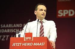 Vom Saarland nach Berlin: Der stellvertretende Ministerpräsident Heiko Maas (SPD) soll neuer Bundesjustizminister werden - Quelle: spdsaar / flickr / cc by-nd 2.0