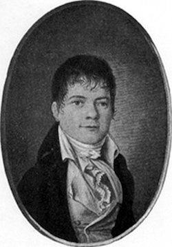 """Der Karl Heinrich Ulrichs der Schweiz: Heinrich H�ssli (1784 -1864) schrieb mit """"Eros. Die M�nnerliebe der Griechen"""" die erste wichtige Verteidigung der Homosexualit�t"""