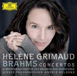 Grimaud hat die beiden Werke von Brahms mit zwei der besten Orchester weltweit eingespielt