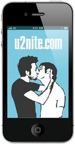 Nach nur einer Minute kann es losgehen: Chatten, daten, knutschen. - Quelle: u2nite