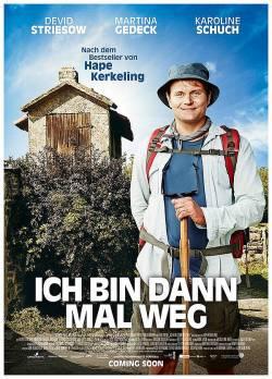 "Poster zum Film: ""Ich bin dann mal weg"" startet am 24. Dezember 2015 in den Kinos"