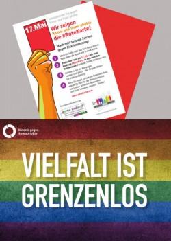 Aktuelle Motive zum diesjährigen IDAHOT