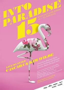 Das Plakat zum Festival 2015 mit dem Flamingo als neuer Werbefigur