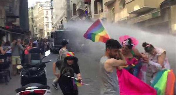 Verbotene Demonstration Hohes Polizeiaufgebot in Istanbul wegen Gay-Pride-Marsch
