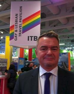 """Unser Interviewpartner Thomas Bömkes ist """"LGBT Consultant"""" der Internationalen Tourismus-Börse - Quelle: privat"""
