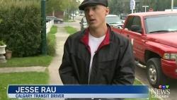 """Busfahrer Jesse Rau beklagte sich auch in Fernsehinterviews �ber die """"Zumutung"""" seines Arbeitgebers"""