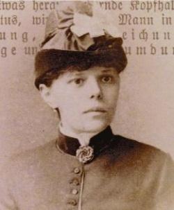 Schuf um 1900 eine Br�cke zwischen der Homosexuellen- und der Frauenbewegung: Johanna Elberskirchen - Quelle: UVK Verlagsgesellschaft