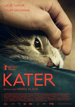 """Poster zum Film: """"Kater"""" startet am 24. Novemer 2016 in deutschen Kinos. Premiere ist bereits am Montag im Berliner Kino International"""