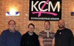 Das KCM-Schwulenzentrum Münster e.V.  hat im November einen neuen Vorstand gewählt - Quelle: KCM