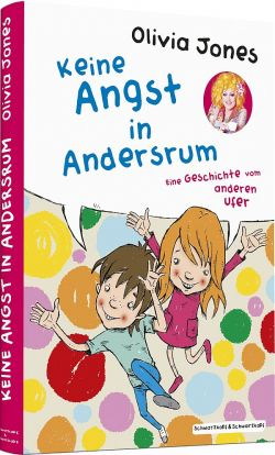"""Das erste Kinderbuch """"Keine Angst in Andersrum"""" von Olivia Jones ist am 1. März 2015 im Schwarzkopf & Schwarzkopf Verlag erschienen"""