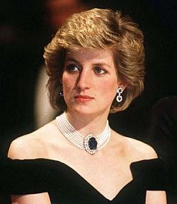 Ohne Ledermütze und Army-Jacke: Lady Diana 1985 im Weißen Haus - Quelle: United States Federal Government
