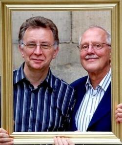Im Visier der Frankfurter Allgemeinen: Professor R�diger Lautmann (re.), hier mit seinem eingetragenen Lebenspartner Heiko Hinrichs - Quelle: privat