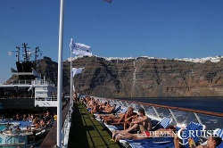 Vom 22. bis 29. Juli cruist die MS Horizon durchs Mittelmeer: Tags�ber entspannen und sonnen ... - Quelle: La Demence