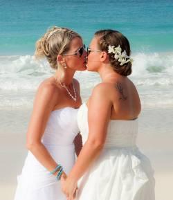 Lesben am strand