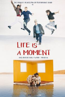 "Poster zum Film: ""Life Is a Moment""  l�uft seit 28.7. in Dresden (Kino im Dach), am 12.8. in W�rzburg (Central Programmkino), am 22.8. in Magdeburg (Studio), ab 22.10. in Wiesbaden (Caligari-Filmb�hne) und am 26.10. in Leipzig (Passage)"