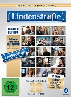 """Die """"Collector's Box"""" des 28. Jahrgangs ist am 27. M�rz 2015 als limitierte Edition erschienen, die als Zugabe einen hochwertigen """"Lindenstra�e""""-Aufkleber enth�lt"""