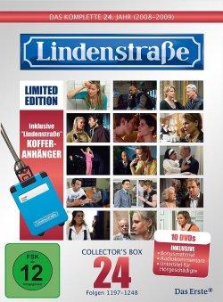"""Die """"Collector's Box"""" des 24. Jahrgangs erscheint als limitierte Edition, die als Zugabe einen Kofferanh�nger mit """"Lindenstra�e""""-Logo enth�lt"""