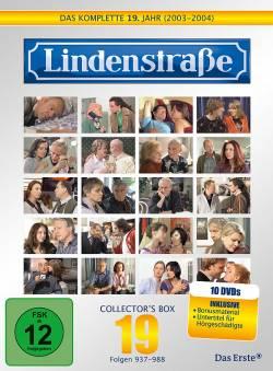 """Ab 28. September im Handel: alle 52 Folgen des 19. Jahres """"Lindenstraße"""" plus viel Bonusmaterial auf zehn DVDs"""