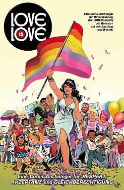 """Drei Euro pro Buch für den LSVD Comic """"Love is Love"""" jetzt auf Deutsch"""