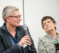 Zwei kämpferische Frauen: Sabine Hark und Rita Süssmuth