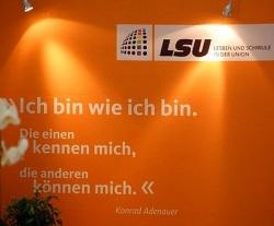 Mit Adenauer-Spruch f�r Homo-Rechte: LSU - Quelle: LSU Nord