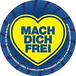 Aktueller CSD-Aufkleber der FDP: Bei der Hamburger Parade wollen die Liberalen aber nicht frei machen...