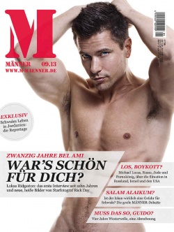 Das Interview ist ein Auszug eines Gesprächs, das in der September-Ausgabe des Magazins MÄNNER veröffentlicht wurde