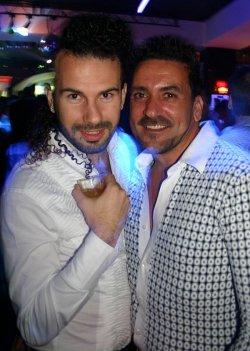 """Im Nachtleben vom Malta: zwei Gäste im Club """"Klozet"""""""