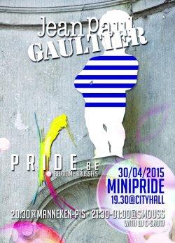 """Flyer zum """"Minipride"""" zur Einkleidung am 30. April"""