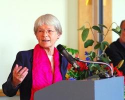 Maria Jepsen, ehemalige ev. Blschöfin von Hamburg, hier bei einer anderen Veranstaltung - Quelle: Presse Nordelbien / flickr / cc by 2.0