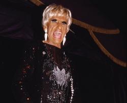 Montez 2003 im La Te Da Cabaret in Key West - Quelle: Bernd Rosenbaum