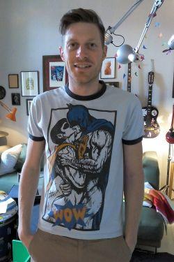 """Der Fernsehjournalist und Comicfan Markus Pfalzgraf ist Autor des Buches """"Stripped � A Story of Gay Comics"""" und geh�rte zum Kuratorenteam der Ausstellung """"SuperQueeroes: Unsere LGBTI-Comic-Held_innen"""" im Schwulen Museum* Berlin. - Quelle: privat"""