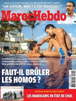 """Das Cover der """"Maroc Hebdo""""-Ausgabe vom 12. Juni 2015"""
