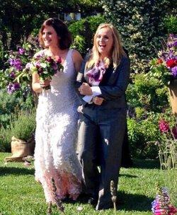 Im vergangenen Jahr heiratete Melissa Etheridge ihre langjährige Partnerin Linda Wallem