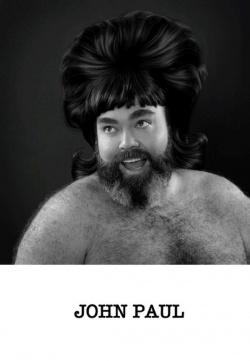 """Echte Kerle mit Photoshop-Perr�cken zeigt die queere Fotostrecke """"Big Locks"""" von David Hawe"""