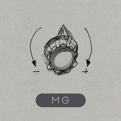 """Wo wir schon grad bei der Festplatten-Assoziation sind: Erinnert das Cover von """"MG"""" nicht irgendwie an eine 5,25″-HD-Diskette?"""