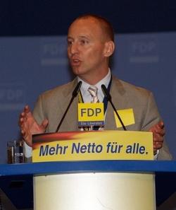 """Michael Kauch fordert """"Mehr Netto f�r alle"""" - Eingetragene Lebenspartner vertr�stet er allerdings auf das n�chste Jahr - Quelle: FDP-Bundestagsfraktion"""