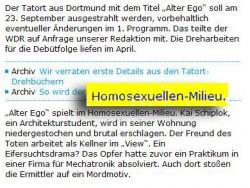 """Im """"Krimi-Milieu"""" hei�t es hier: Alles, was sie sagen, kann und wird gegen sie verwendet werden... - Quelle: Scrennshot ruhrnachrichten.de"""