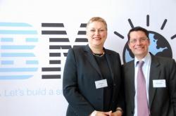 Namhafte Aussteller: Neben IBM sind auch Google, General Electric, McKinsey, Vodafone, NH Hotels und Hugo Boss auf der MILK vertreten - Quelle: