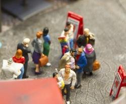 Die noch immer umstrittenen Punkte Blutspende und Adoptionsrecht hat die FDP aufgegriffen - Quelle: Miniatur Wunderland