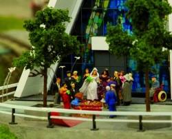 Kirchliche Lesbenhochzeit in Skandinavien, Teil der eigentlichen Ausstellung