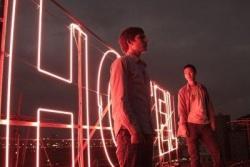 Viktor und Didi über den Dächern von Taipeh - Quelle: Barnsteiner Film